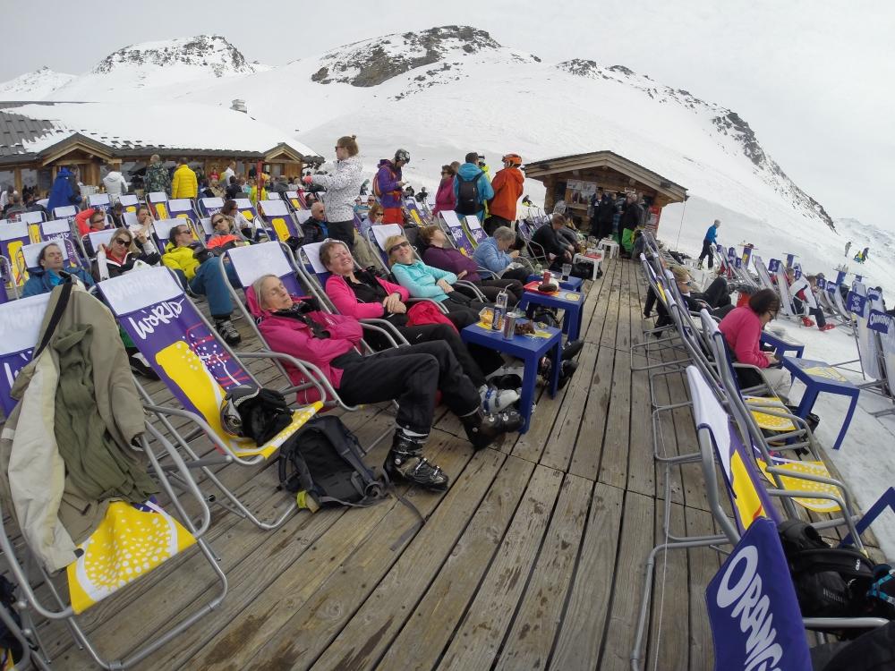 Les Trois Vallées, voorjaar alpineskireis