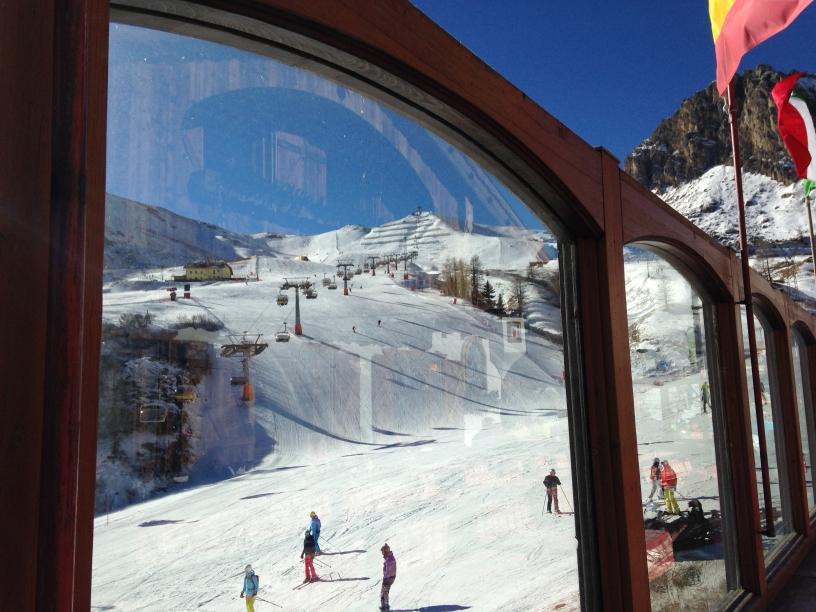 Arabba, winter alpineskireis