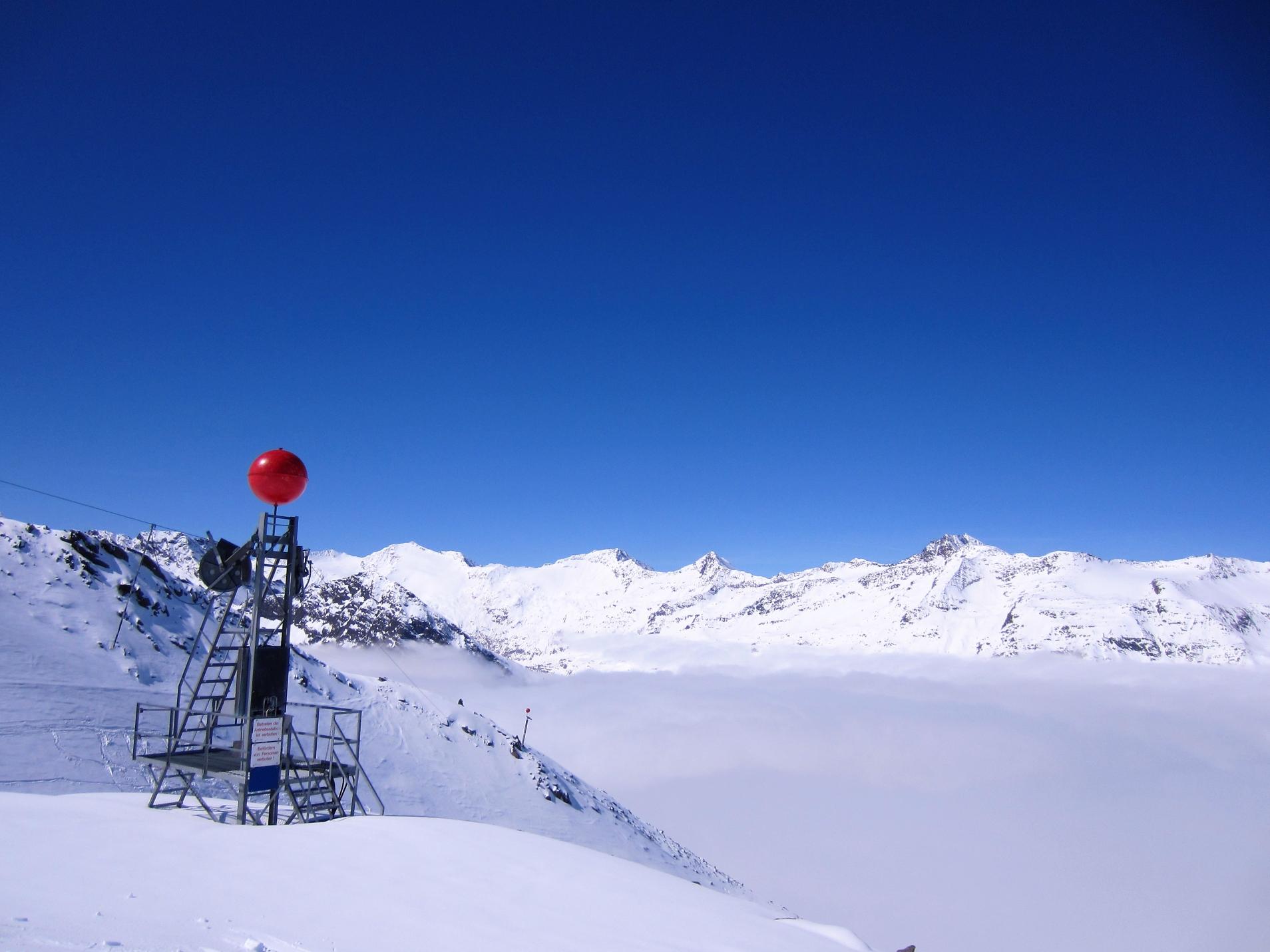 Hochgurgl, lente alpineskireis