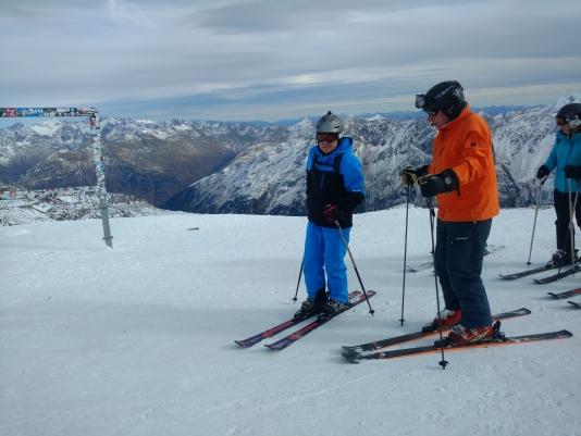 Ab en Kees op de Schwarze Schneide