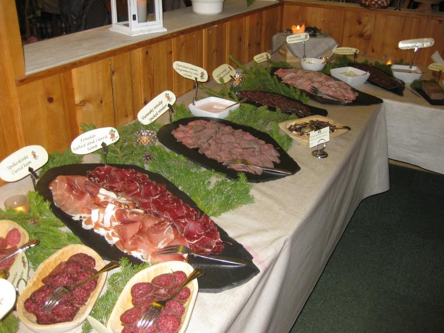 Diversiteit op het koude buffet
