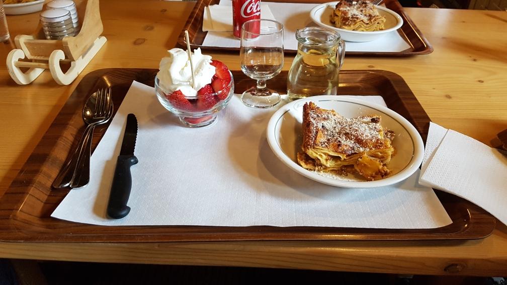 Eenvoudige lunch