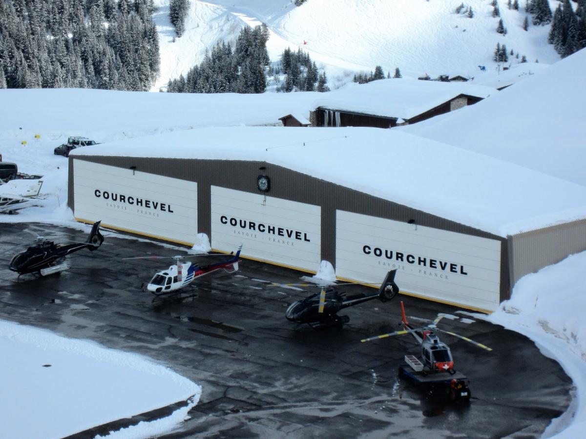 Vliegveld Courchevel
