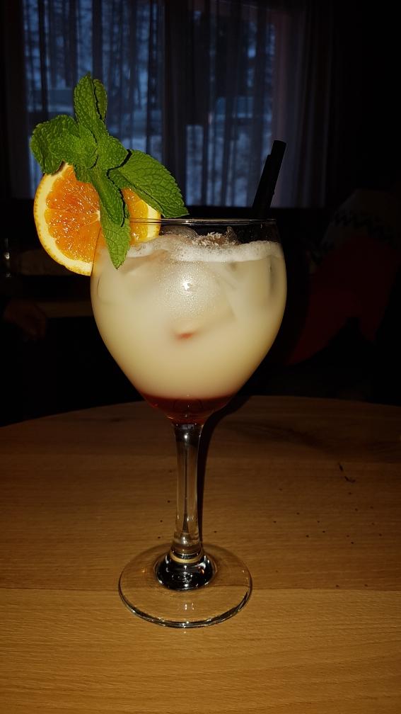 Just een heerlijke cocktail