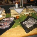 Diverse vissoorten bij het koude buffet - IMG_1118