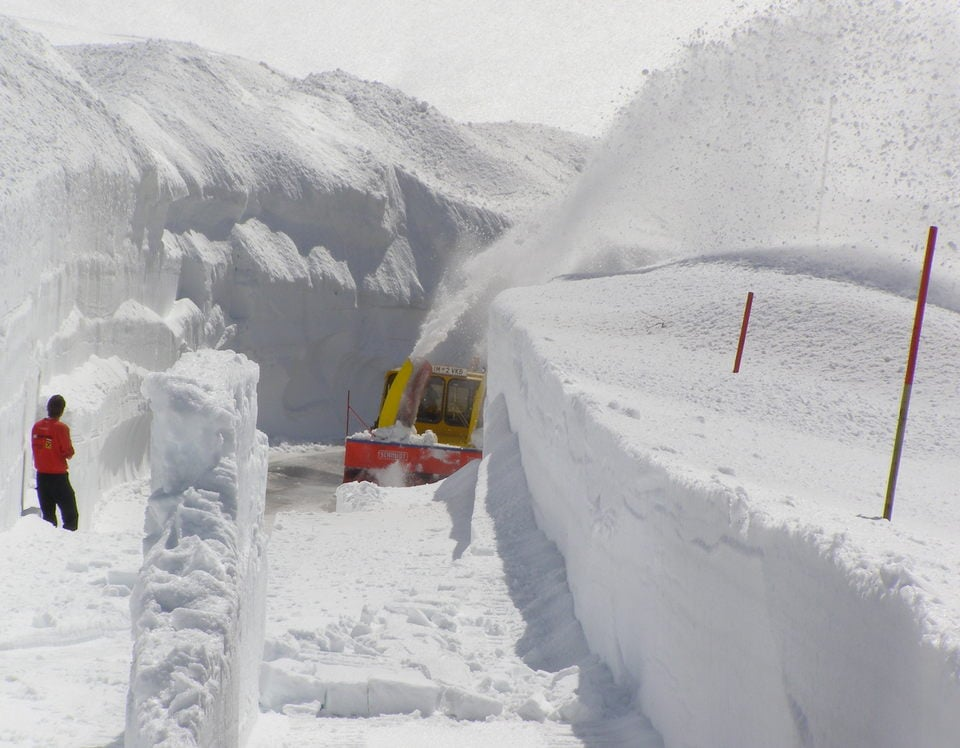 Ober/Hochgurgl 2019, lente alpineskireis