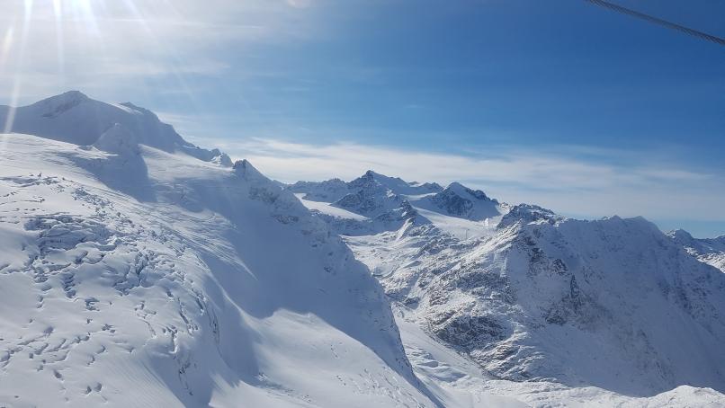 666 - Zicht op Gletscher van Pitztal -  GENOMINEERD