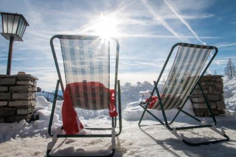 676 - In de zon bij Berghotel Turlwand -  GENOMINEERD - EERVOLLE VERMELDING