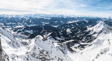 679 - Uitzicht op Dachsteingletscher